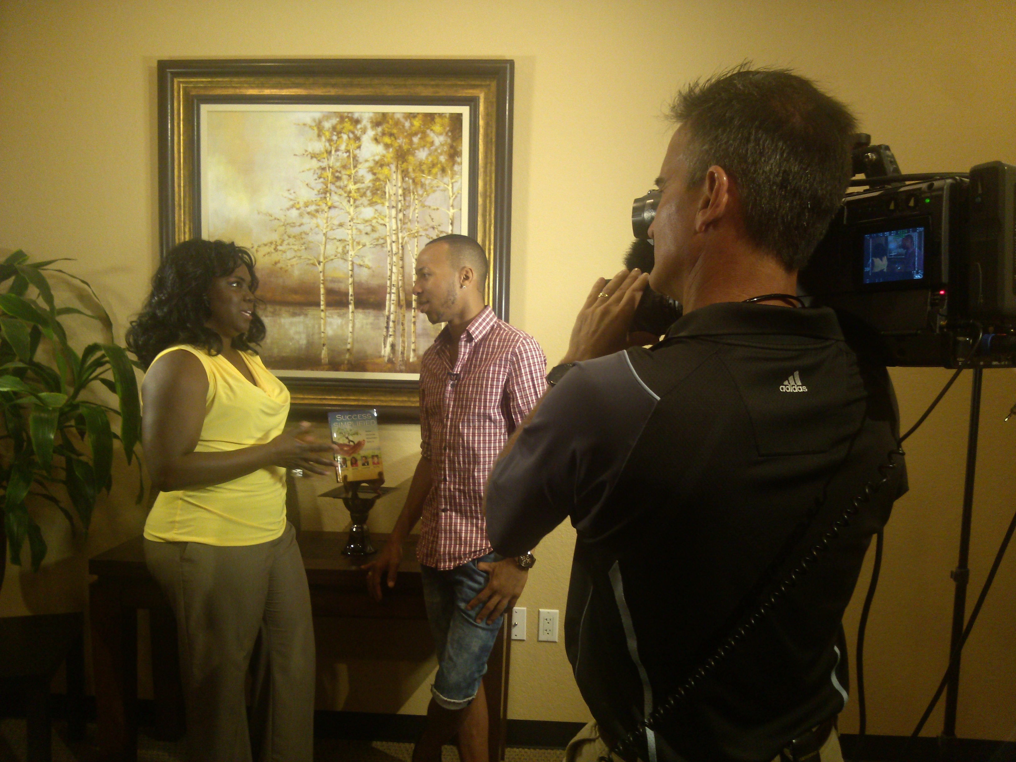Syndicated TV Interview