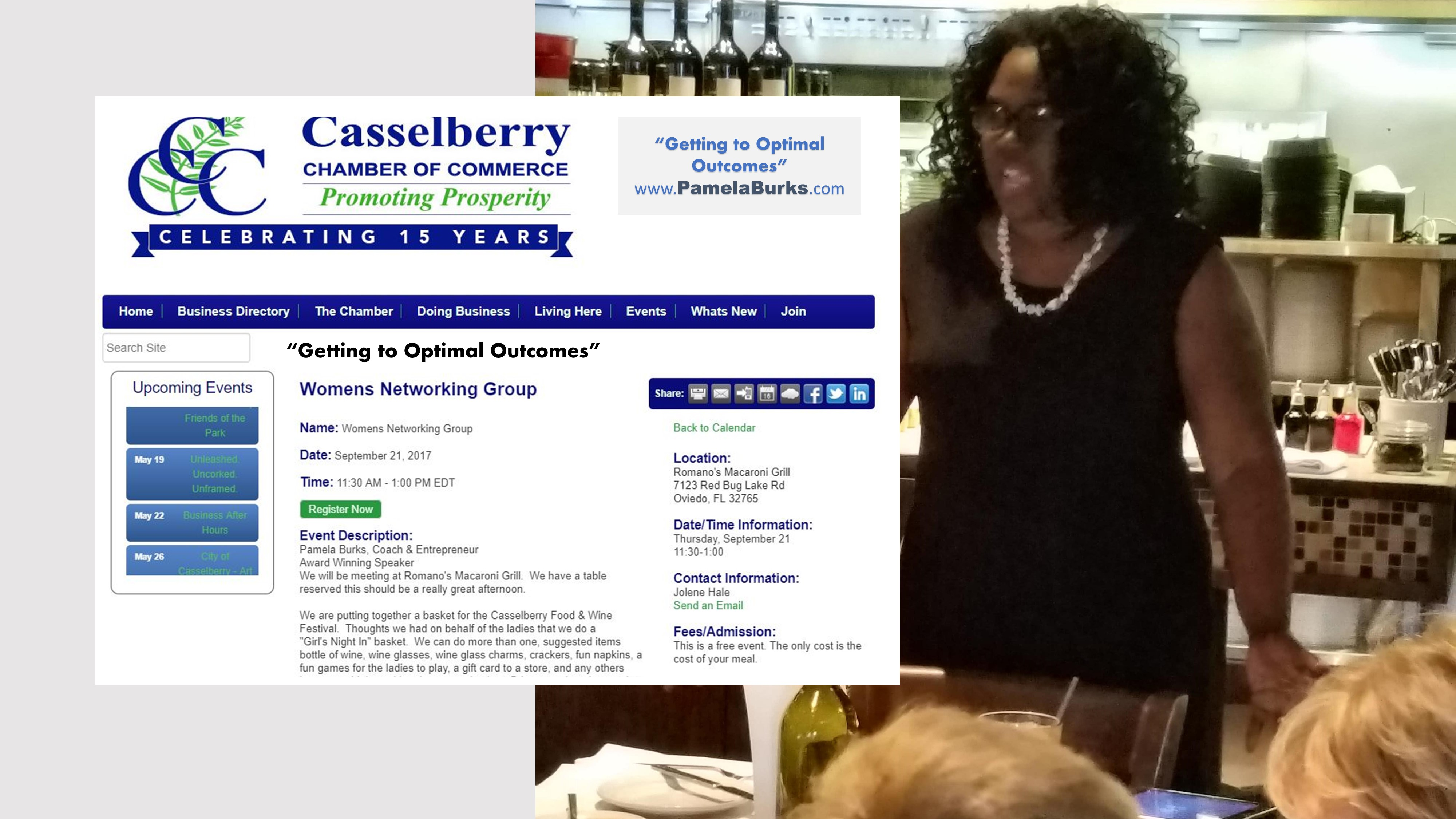 Casselberry Chamber - Key Note -Optimal-Outcomes