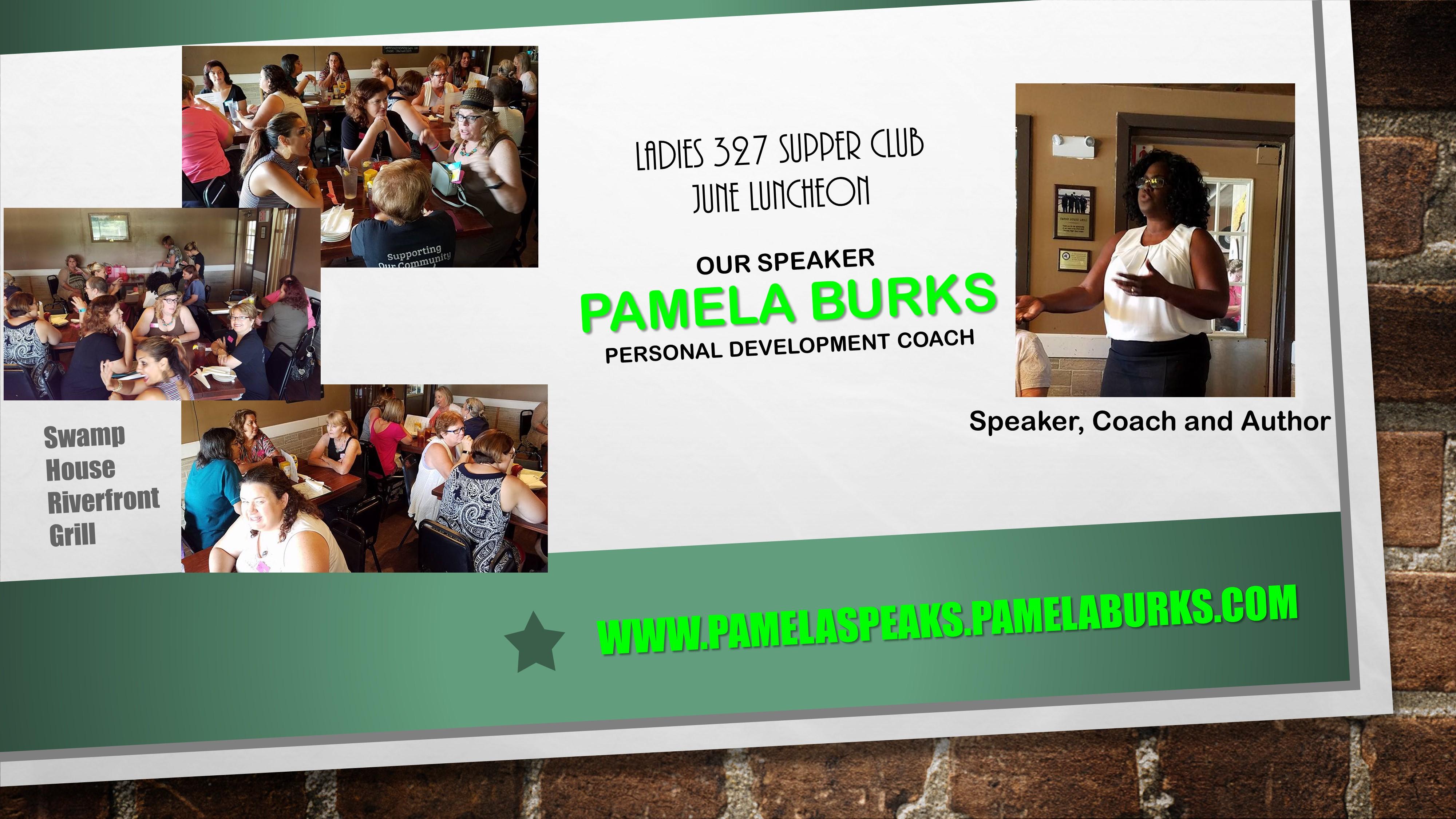 Ladies-327-Supper-Club Meeting - Keynote