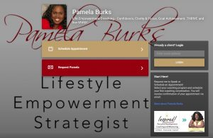 Schedule with Coach Pamela Burks
